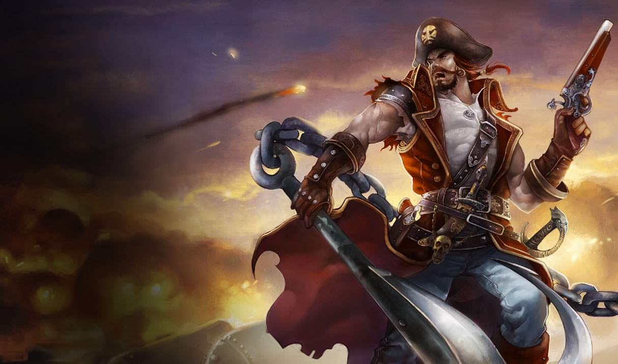 how to carry with gangplank