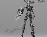 thumbs shyvana fan art 22 Shyvana фан арт