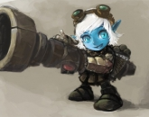 thumbs tristana fan art 3 Tristana фан арт