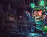 thumbs mad scientist ziggs Ziggs Hexplosives Expert